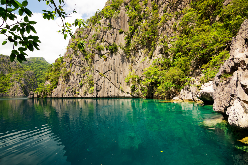 Barracuda lake on Coron Island